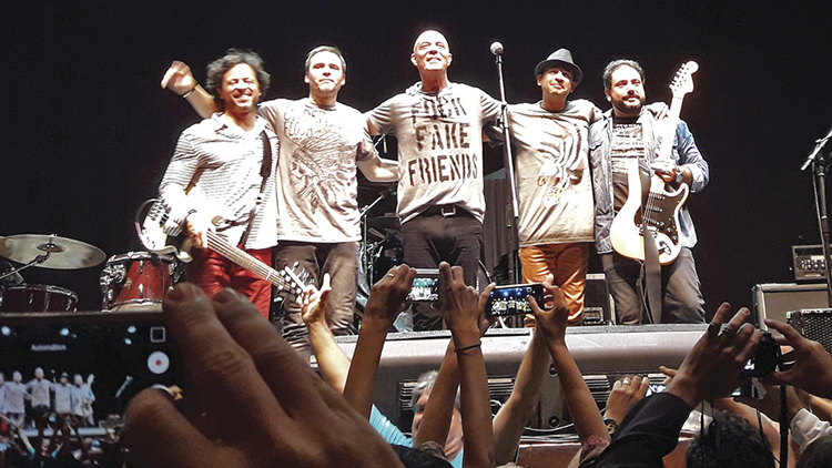 Banda Zero (Foto: Adriana Moraes)