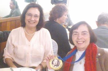 As autoras, Lúcia Sertã e Therezinha Tavares (Arquivo pessoal)