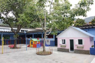 O Centro Municipal de Educação Infantil Augusta Hörn (Dona Augusta)
