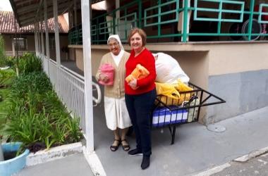 A Casa dos Pobres recene doações da Casa da Amizade do Rotary (Arquivo AVS)