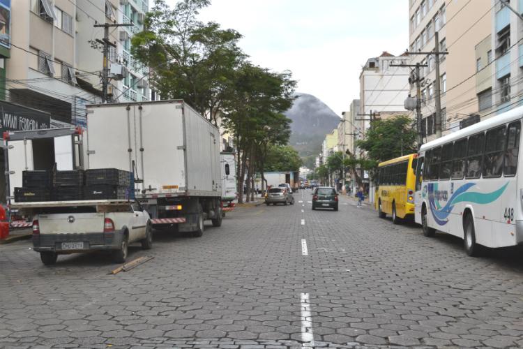 Avenida Alberto Braune (Foto: Lúcio Cesar Pereira)