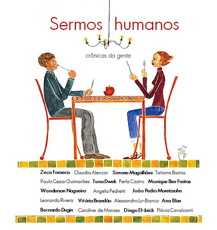"""Lançado o livro de crônicas """"Sermos Humanos"""""""