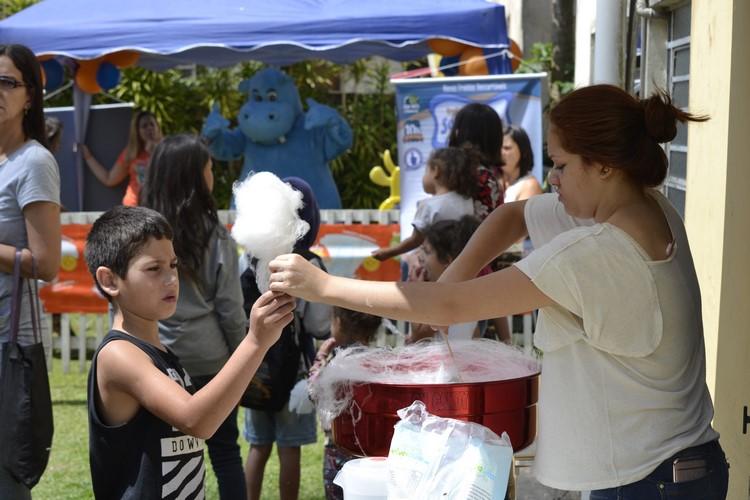 O evento ficou cheio de crianças (Fotos:Henrique Pinheiro)