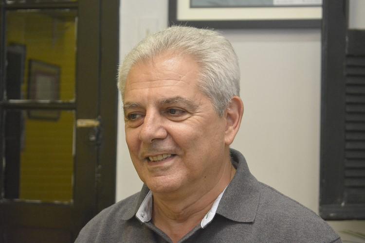 O novo secretário de Cultura de Nova Friburgo, Mário Jorge, o Marinho (Fotos: Henrique Pinheiro)