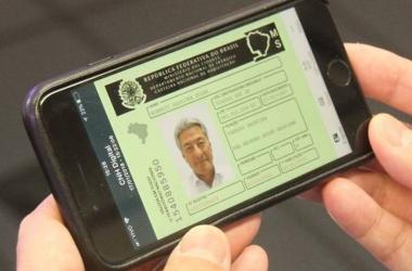 A CNH digital vale como identidade e pode ser exportada em arquivo PDF (Divulgação)