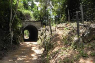 Um túnel duramte o percurso (Reprodução da web)
