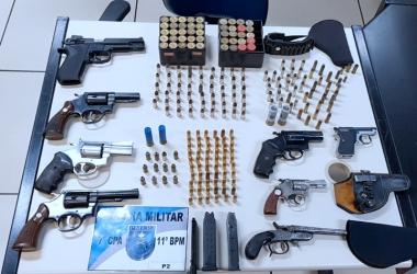 PM acaba com comércio ilegal de armas no Jardinlândia