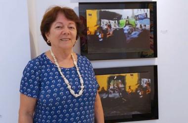 Rose Aguiar representa Friburgo na mostra coletiva Eixo Arte Visual