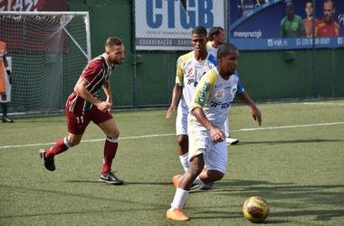 Time de Nova Friburgo não conseguiu bom resultado na estreia da competição (Fotos: Leonardo Santos/FF7RJ)