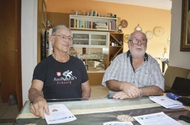 Geraldo Thurler e Marcel Schuwey querem estimular o intercâmbio entre friburguenses e suíços (Foto: Henrique Pinheiro)