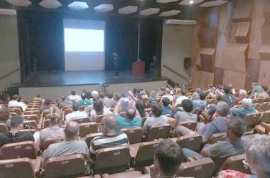 Programação inclui palestras sobre plantio, produção, comercialização e utilização do lúpulo (Fotos: Paula Valviesse)