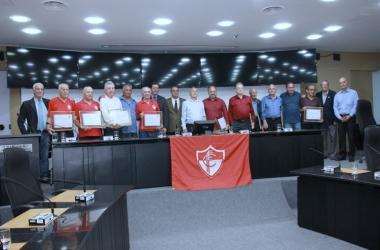 Homenagens marcaram as comemorações pelos 105 do extinto Friburgo Futebol Clube (Fotos: Rafael Seabra / NFFC)