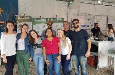 A equipe do Recicloton (Foto: Alerrandre Barros)