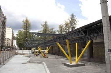As obras na Estação Livre (Arquivo AVS/ Henrique Pinheiro)