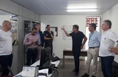 Na reunião foram discutidos detalhes sobre a implantação das câmeras nas vias urbanas