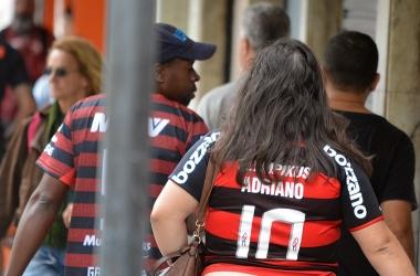Só deu camisa do Flamengo nas ruas (Fotos: Henrique Pinheiro)
