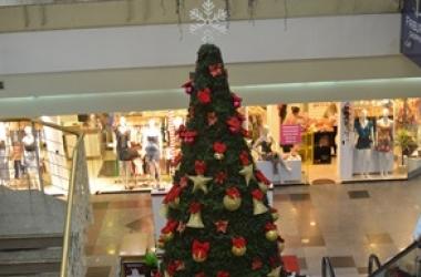 Decoração de Natal do Friburgo Shopping (Arquivo AVS)