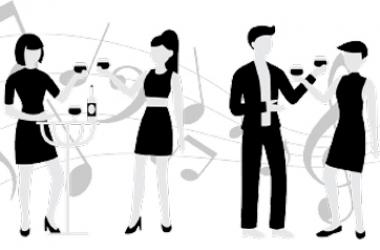 Para início de conversa... Beber vinho com sabor de música
