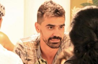Rodrigo Marotti na loja onde trabalhava com Alessandra (Reprodução da web)