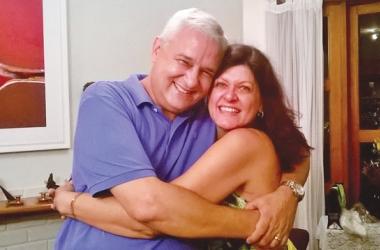 Walter José e Josanne: quatro décadas de cumplicidade (Arquivo pessoal)