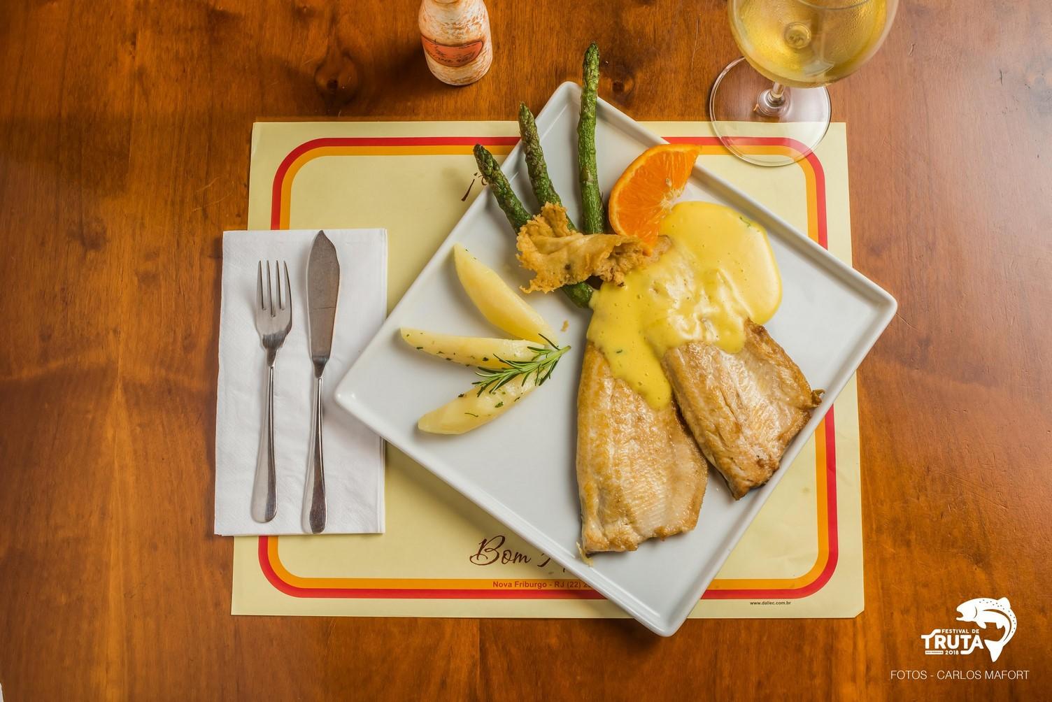 A truta do Viva Rô: melhor prato técnico (Foto: Carlos Mafort)