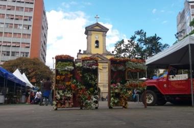 O evento na Praça Dermeval Barbosa (Fotos: Fernando Moreira)