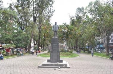 A Praça Getúlio Vargas (Henrique Pinheiro/ Arquivo AVS)