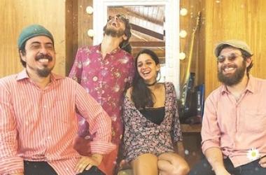A banda de blues Doutor Barba Rosa (Divulgação)
