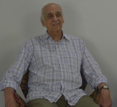 Zuenir Ventura em visita recente ao estúdio de A VOZ DA SERRA (Arquivo AVS)
