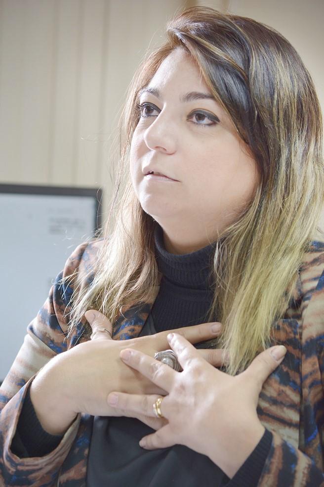 Larissa Guimarães Davidovich, titular do Núcleo de Atendimento da Defensoria Pública