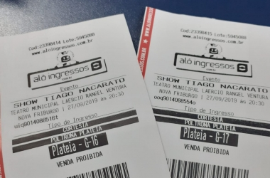 A VOZ DA SERRA sorteia nesta quarta ingressos para Tiago Nacarato