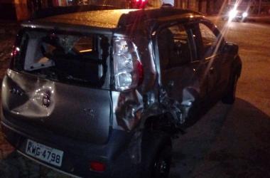 O veículo envolvido na colisão (Reprodução da web)