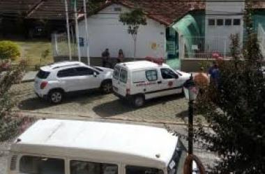 A ambulância de Lumiar: sem UTI (Arquivo AVS)