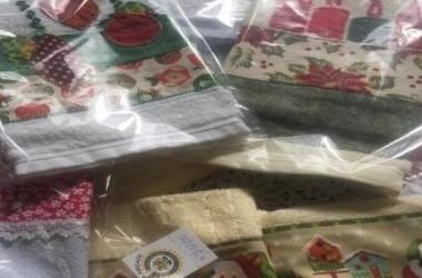 Toalhas são uma das atrações do bazar (Divulgação)