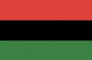 A bandeira pan-africana