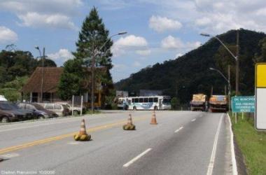 O BPRV de Conquista, próximo ao local do acidente (Reprodução da web)