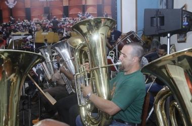 Os músicos fizeram ensaios diários durante a última semana para fazer bonito no concerto deste domingo (Divulgação)
