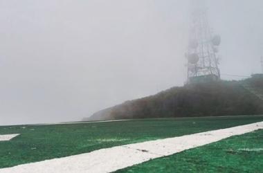 As torres do Caledônia sob as nuvens: risco (Fotos: Fernando Moreira)