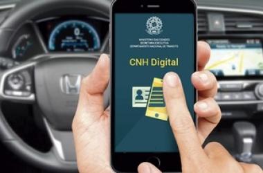 Carteira Nacional de Habilitação já disponível na versão digital