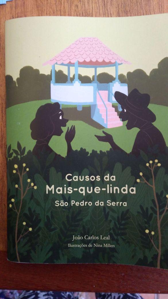 A capa do livro com