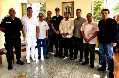 Os novos membros do Conselho Comunitário de Segurança de Nova Friburgo