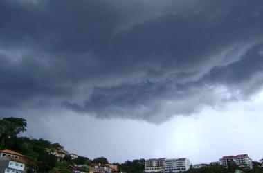 Climatempo prevê risco de temporais nesta quarta