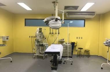 O centro cirúrgico do Raul Sertã (Arquivo AVS)