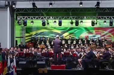 Concerto da Independência une brasileiros e portugueses