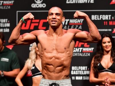 O lutador de UFC Edson Barboza (Foto: Jason Silva)