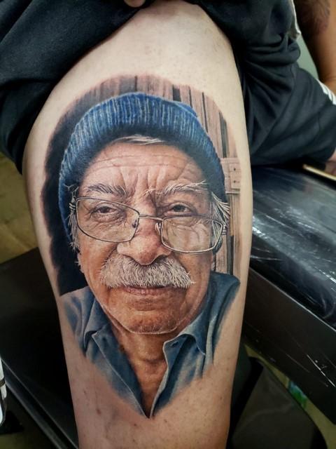Uma das tatuagens premiadas (Reprodução)