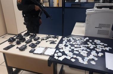 Toda a droga apreendida na operação foi encaminhada para perícia no setor de de Polícia Técnica e Científica
