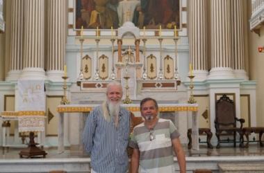 Armaldo Luis Miranda e Paulo Newton: parceria (Divulgação)