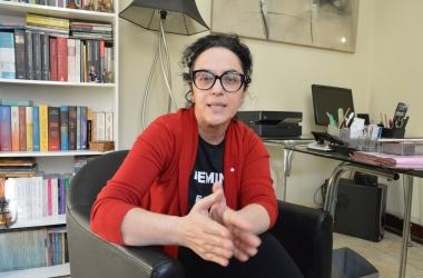 Marcia Tiburi em entrevista ao jornal A VOZ DA SERRA