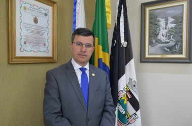 O presidente da Câmara, Alexandre Cruz (Foto: Marcio Madeira)